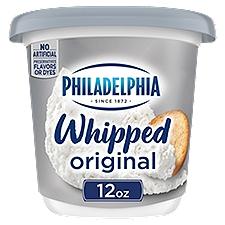 Philadelphia Cream Cheese Spread - Whipped, 12 Ounce