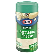 Kraft Cheese Grated - Parmesan, 8 Ounce