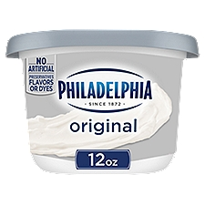Philadelphia Cream Cheese Spread - Regular, 12 Ounce