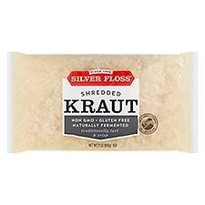 Silver Floss Krrrrisp Kraut Sauerkraut - Barrel Cured, 32 Ounce