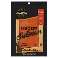 Acme Smoked Fish Smoked Nova Salmon - Pre Sliced, 8 Ounce