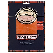 Blue Hill Bay Salmon, Smoked Seafood, 4 Ounce