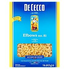 De Cecco Enriched Macaroni Product - 81. Elbows, 16 Ounce