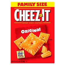 Kellogg's Cheez It Baked Snack Crackers  - Original, 21 Ounce