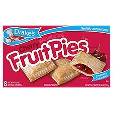 Drake's Cherry Fruit Pies, 8 Each