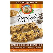 Sunbelt Chocolate Chip Granola Peanut Butter, 10.21 Ounce