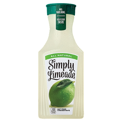 Enjoy crisp, refreshing limeade. Simply Limeade has just the right balance of sweetness and tartness to provide refreshment any time of the day.