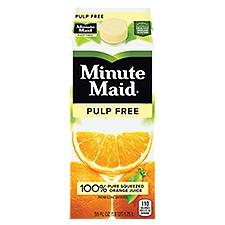 Minute Maid Premium Orange Juice - Pulp Free, 59 Fluid ounce