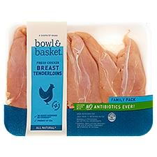 Bowl & Basket Chicken Breast Tenderloins , Fresh, 2.4 Pound
