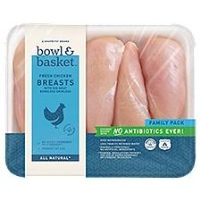 Bowl & Basket Chicken Breasts, Fresh , 3.5 Pound