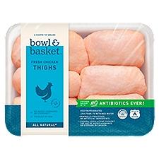 Bowl & Basket Chicken Thighs, Fresh, 2.3 Pound