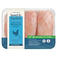 Bowl & Basket Chicken Breasts , Fresh, 1.9 Pound