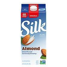 Silk Original Almondmilk, 64 Fluid ounce