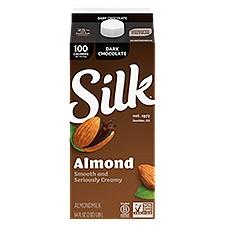 Silk Dark Chocolate Almondmilk, 64 Fluid ounce