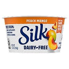 Silk Dairy-Free Peach & Mango Yogurt Alternative, 5.3 Ounce