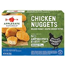Applegate Naturals Natural Chicken Nuggets (Frozen), 8 Ounce