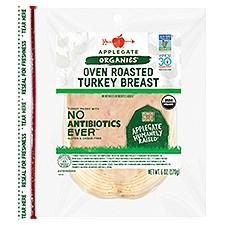 Applegate Organic Oven Roasted Turkey Breast, 6 Ounce