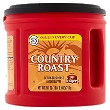 Folgers Caffeinated Ground Coffee, 25.1 Ounce