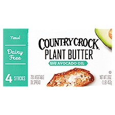 Country Crock Avocado Oil Plant Butter, 16 Ounce