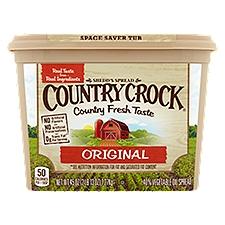 Shedd's Spread Country Crock Buttery Spread Original, 45 Ounce