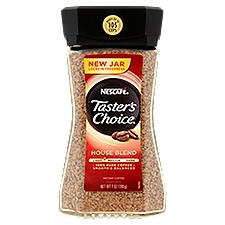 NESCAFE TASTER'S CHOICE House Blend Instant Coffee, 7 Ounce