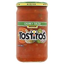 Tostitos Salsa - Chunky Medium, 24 Ounce