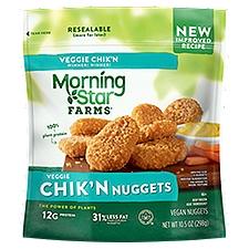 MorningStar Farms Classics Chik'n Nuggets, 10.5 Ounce