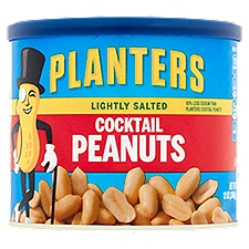 Planters Lightly Salted Cocktail Peanuts, 12 Ounce