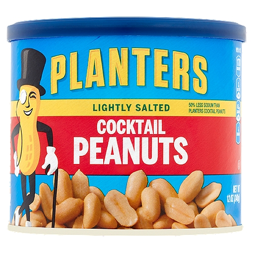 Resealable canister makes it easy to keep the peanuts fresh. Lightly salted with sea salt. Perfect for those keeping kosher.