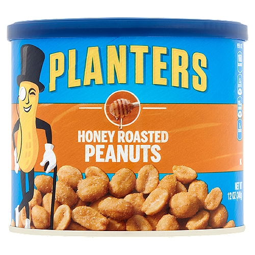 Resealable canister makes it easy to keep the peanuts fresh. Cholesterol-free and a good source of 5 vitamins & minerals.