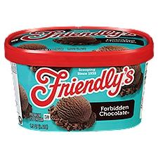 Friendly's Premium Forbidden Chocolate Ice Cream, 48 Ounce