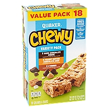 Quaker Chewy Granola Bars - Variety Pack, 15.2 Ounce