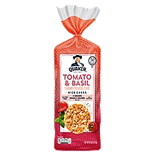 Quaker Rice Cakes Tomato Basil, 6.1 Ounce