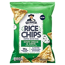 Quaker Sour Cream & Chives Snacks, 2.5 Ounce