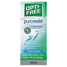 Opti-Free Evermoist  Solution, 4 Fluid ounce