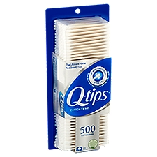 Q-Tips Cotton Swabs, 500 Each