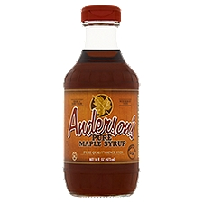 Anderson's Pure Maple Syrup, 16 Ounce