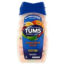 Tums Antacid+Calcium Supplement - Chewable Tablets, 96 Each