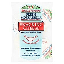 BelGioioso Fresh Mozzarella Snacking Cheese, 6 Ounce