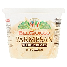 BelGioioso Cheese Freshly Shaved Parmesan, 5 Ounce