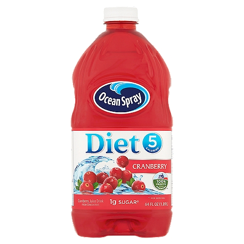 Pasteurized. Kosher. Cranberry juice drink from concentrate. Contains 7% juice. No artificial flavors or preservatives.