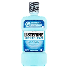 LISTERINE Ultraclean Arctic Mint Antiseptic Mouthwash, 16.9 Fluid ounce