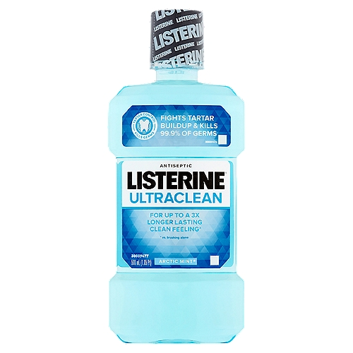 Freshen breath and fight tartar with this mouthwash. The refreshing formula is clinically proven to kill the germs the cause bad breath, plaque, and gingivitis.