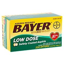 Bayer Aspirin Regimen Low Dose Safety Coated Tablets, 200 Each