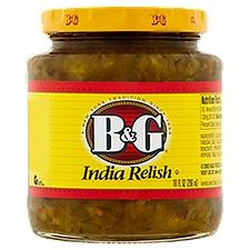 B&G India Relish, 10 Fluid ounce