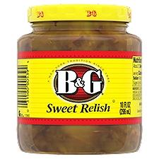 B&G Sweet Relish, 10 Fluid ounce