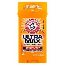 Arm & Hammer Antiperspirant & Deodorant - Ultra Max, 2.8 Ounce