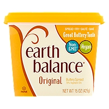 Earth Balance Original Buttery Spread, 15 Ounce