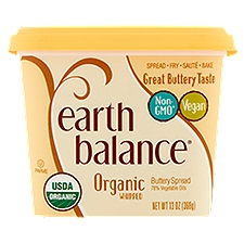 Earth Balance Organic Whipped Buttery Spread, 13 Ounce