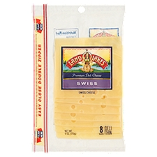 Land O'Lakes Cheese - Swiss Shingle Pack Slices, 6 Ounce